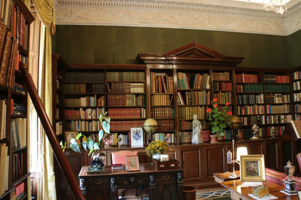 The library at Russborough